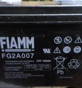 Аккумулятор fiamm2a007 12v100a.