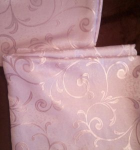 Тюль и шторы с ламбрикеном и подхватами