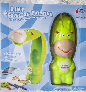 Проектор для обучения рисованию