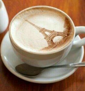 Кофе молотый для заваривания в чашке