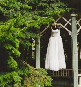 Свадебное платье р-р 40-44