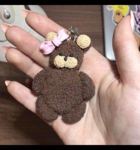Делаю мишек из полимерной глины на заказ