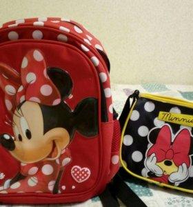 Рюкзак и сумочка Минни Маус!!!