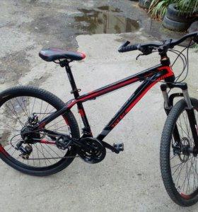 Велосипед PULSE MD400 26 (красно-черный)