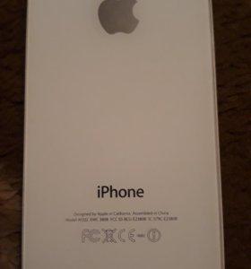 Крышка от IPhone на 4 и 4S, оригинальная.