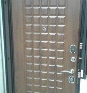 Продажа и установка металических дверей.