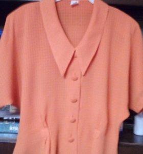 Блуза в отличном состоянии. 48- 50 размер