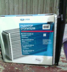 Радиатор отопителя на. Лада Калина