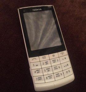 Nokia X3-02.5 Touch and Type White Silver