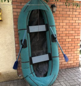 Лодка надувная двухместная