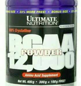 BCAA Ultimate Nutrition powder 12000