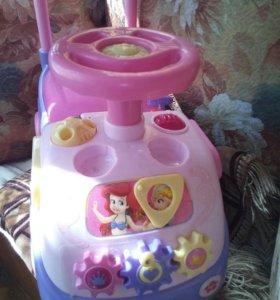 Машинка каталка для девочки