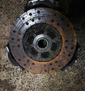 Лапковое сцепление с корзиной от 417 двигателя