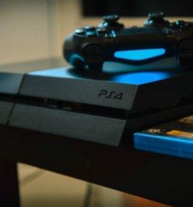 PS4 500Gb + игры + аккаунт