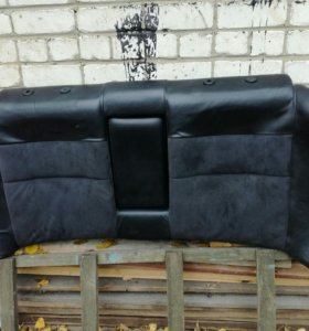 Кожаные сидения зад пассат B5 седан