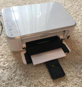 Продам мфу принтер CANON PIXMA MG 3640