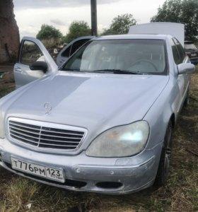 Mercedes w220 3.2 ,2002г разбор