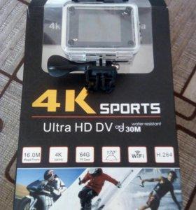 Экшен камера 4K Ultra HD sports