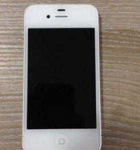 iPhone 4S 8GB White обмен с моей доплатой