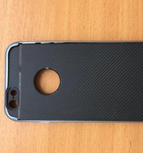 Чехол карбоновый для айфон 6