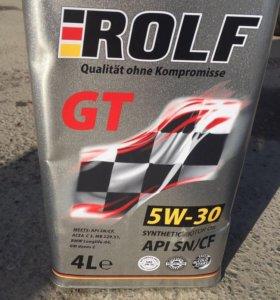 Моторное масло Rolf 5л 5w30 синтетика