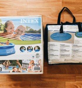 Бассейн надувной НОВЫЙ 305*76 см Intex Easy Set