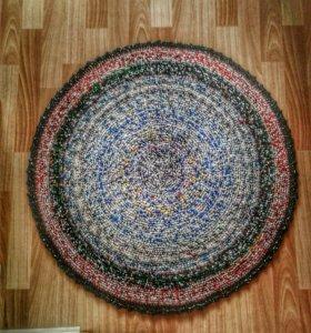 Вязаные коврики 80см - 90см диаметр