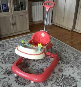 Ходунки детские со столиком