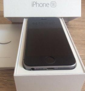 iPhone SE-32gb на гарантии
