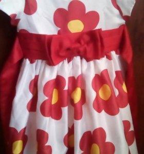 Платье на девочку от года до 2