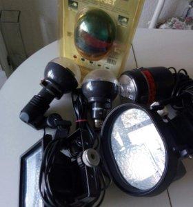 Светильники для фотовидео.