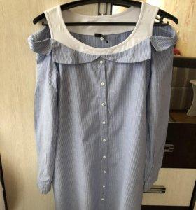 Платье рубашка (новое) ❗️кто заберет 29.07.18-400