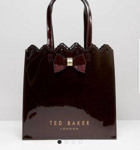 Сумка Ted Baker вишневая (новая)