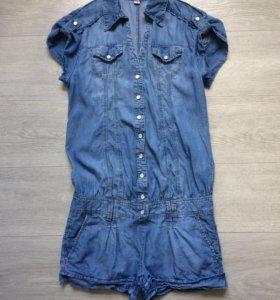 Комбинезон женский джинсовый Zolla
