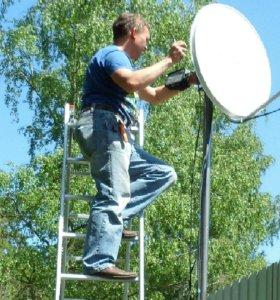 Настройка спутниковых антенн.