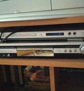 Телевизор и акустическая система