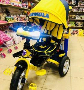 Велосипед-коляска Formula 5, 12/10 надувные колеса
