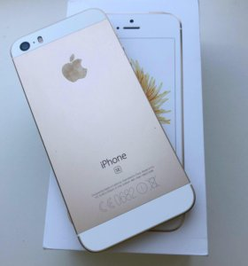 iPhone SE 128 Gb Gold б/у 4 мес