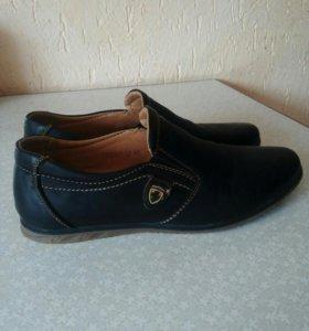 Туфли подростковые мужские