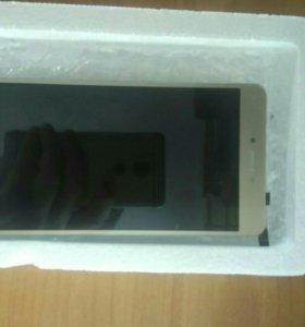 Жк-дисплей + тачскрин Xiaomi Redmi note 4 gold.