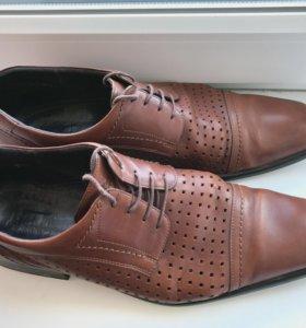 Туфли (п/ ботинки) мужские, р. 45