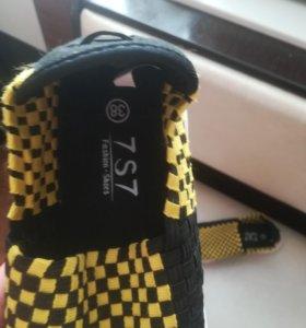Удобная новая обувь