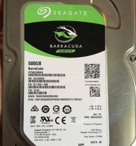 Продам б/у жесткий диск 500гб
