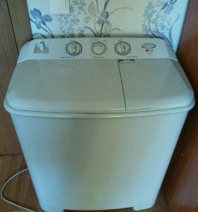 LG полуавтомат стиральная машинка