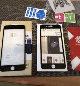 Защитное стекло 3d айфон 7,8 плюс