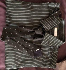 Мужская рубашка и галстук