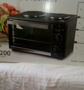 Электро духовка и плита