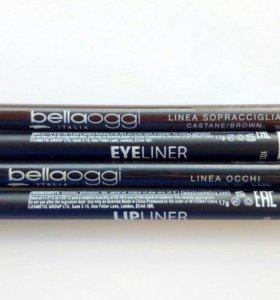 новые карандаши для глаз\губ Lamel, Bellaoggi
