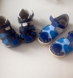Продам сандали почти новые! Р-р 24