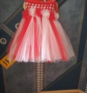Плетеное платье